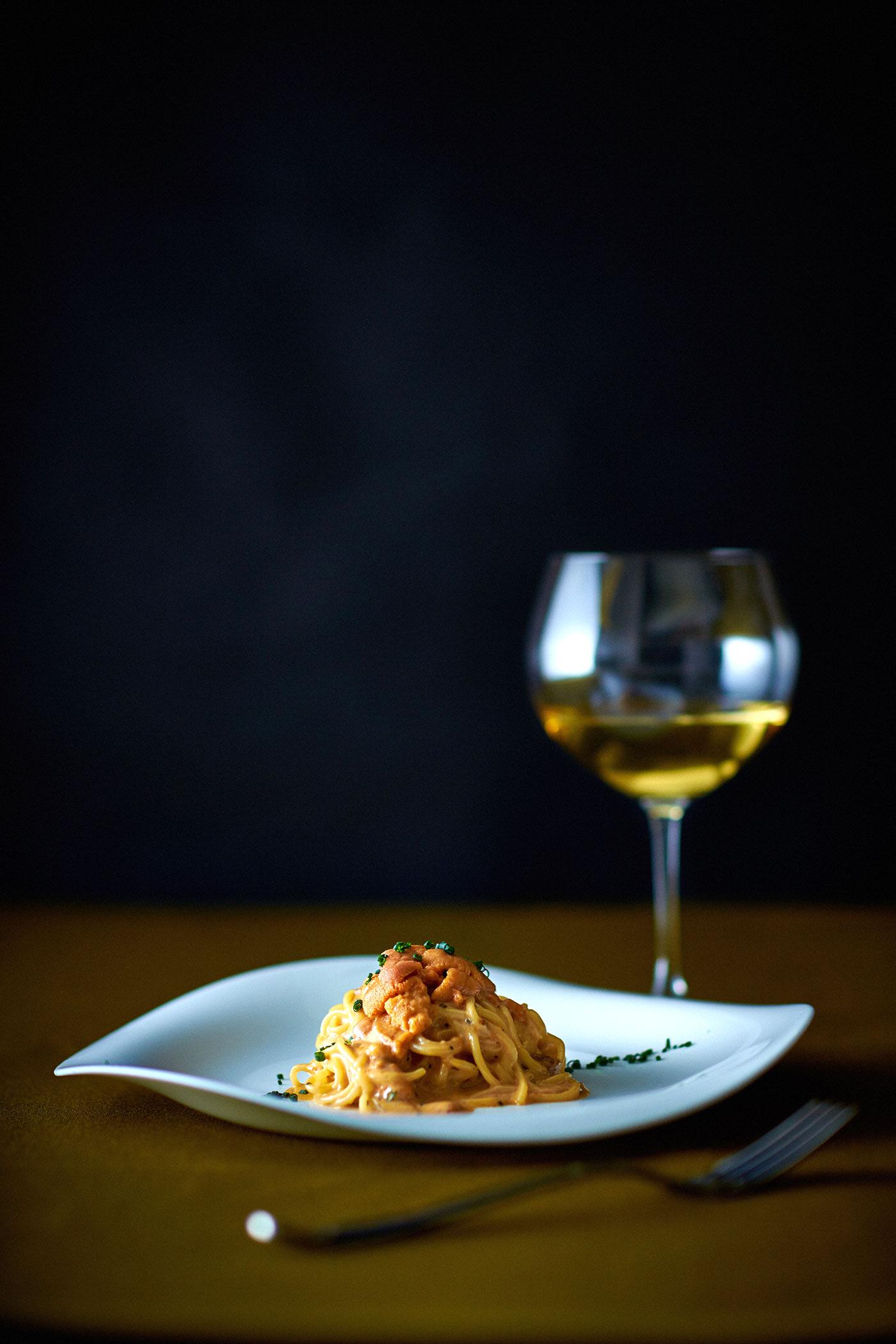 道産のウニのスパゲティ